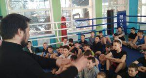Встреча с студентом Николо-Угрешской семинарии